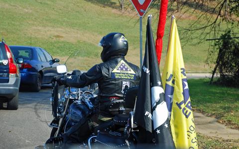 Patriot Guard Rider, Montgomery, Alabama, December 7,2007