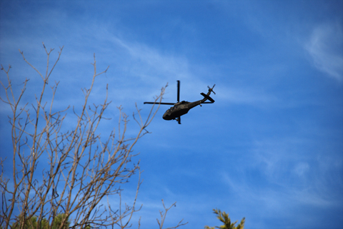 UH-60 Blackhawk over Montgomery, Alabama, 2-2-2008, copyright 2008 jje3